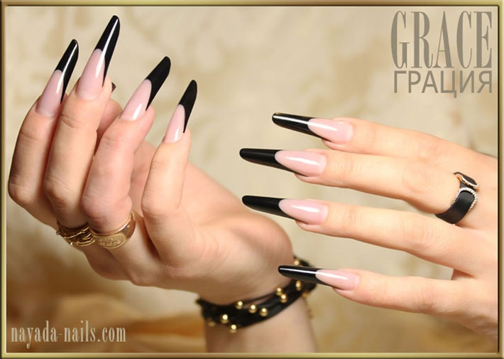 Grace! by Nayada Nails Studio in Френч