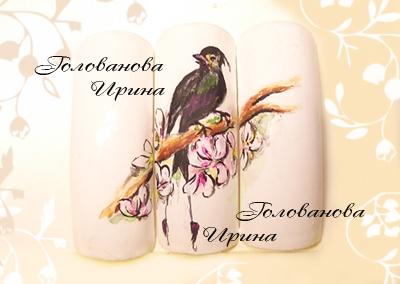 Птичка by Голованова Ирина in Типсы