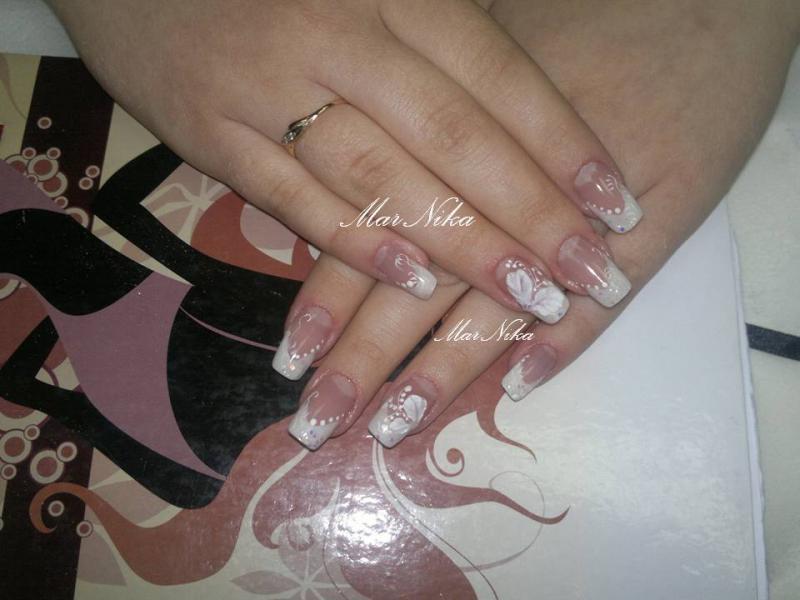 свадебные by мария николаевна in Акриловый дизайн