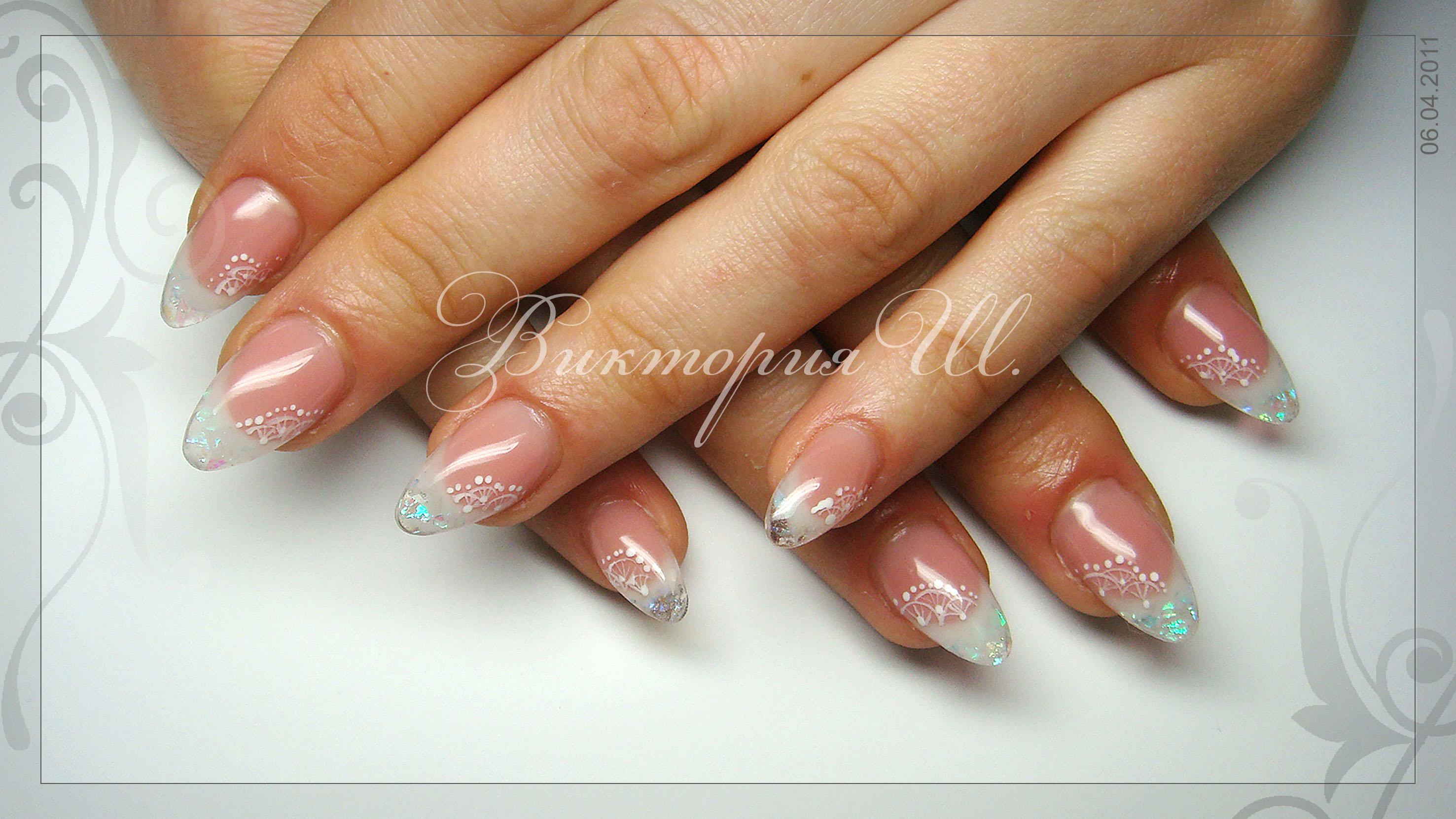 Дизайн ногтей слюда фото