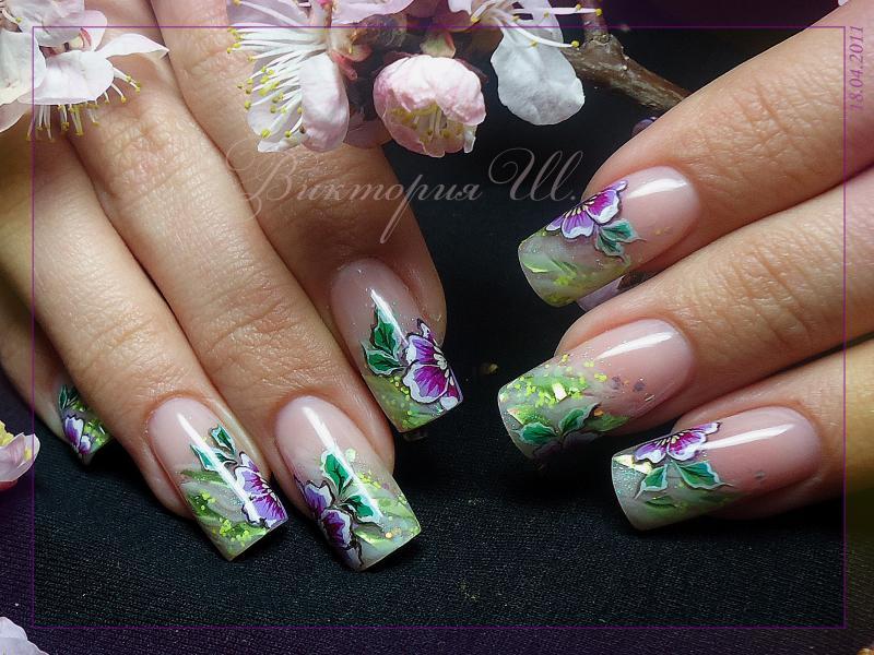 Весенние мотивы by Орхидея in Аквариумный дизайн