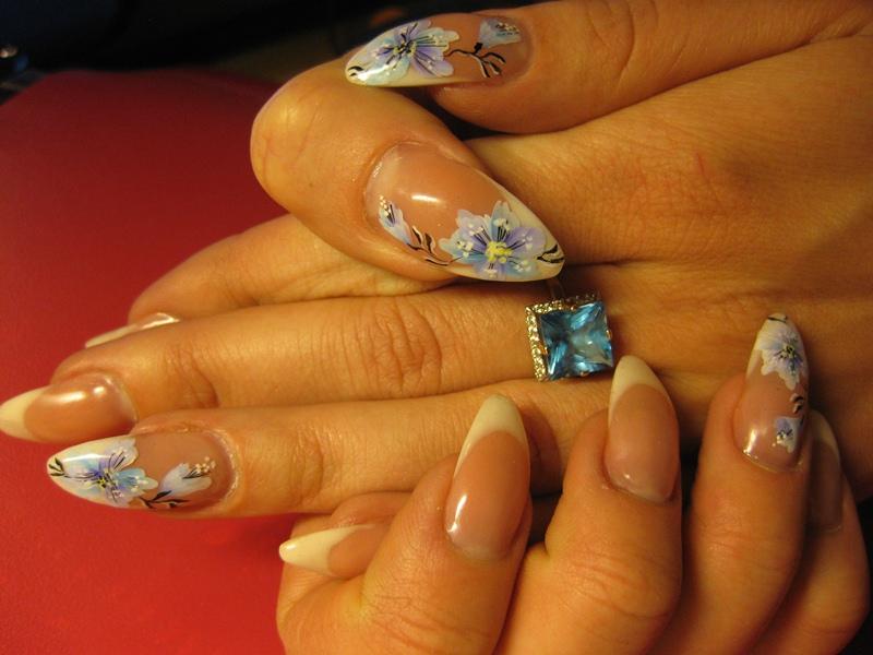 Китайские фото гелевые ногти